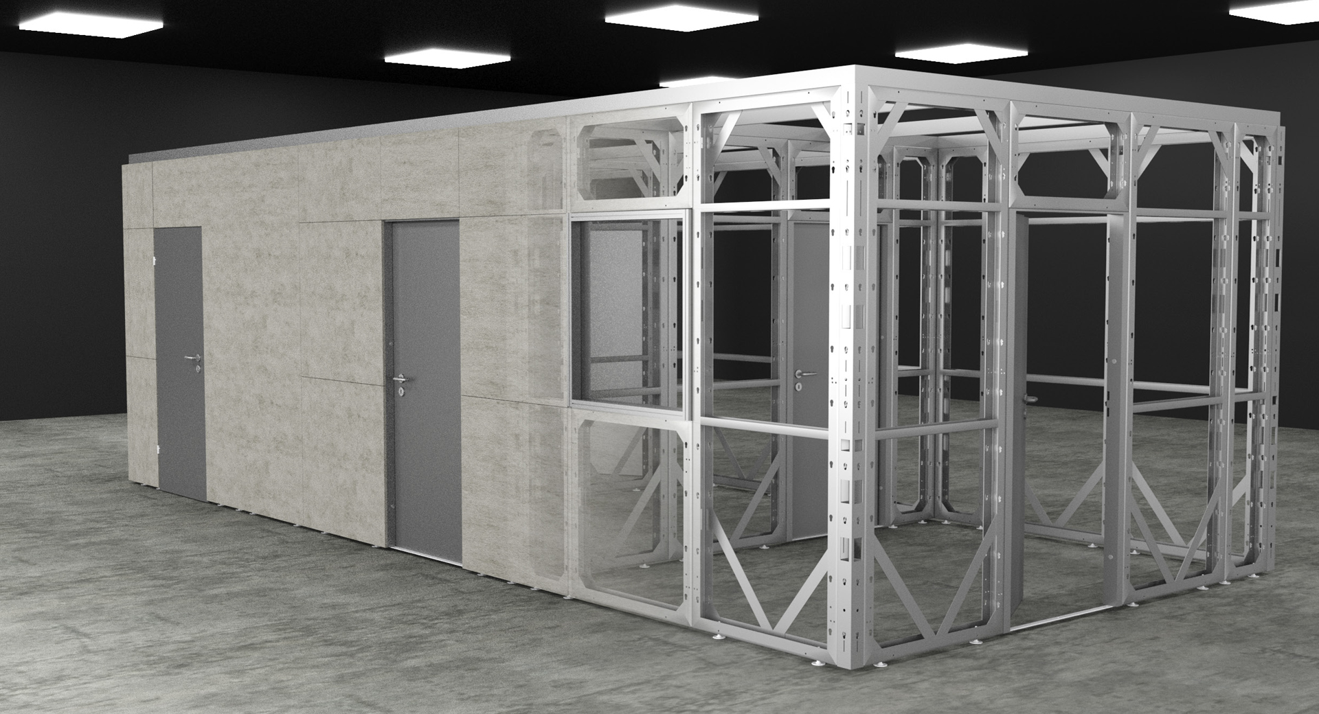 wall system training rooms
