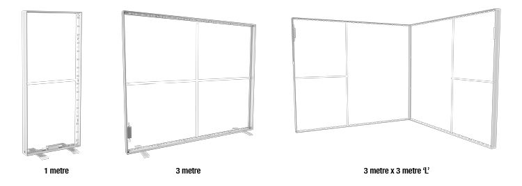 modular lightboxes example
