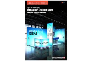 octanorm exhibition light boxes brochure
