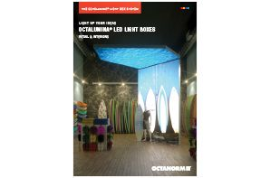 octanorm retail light boxes