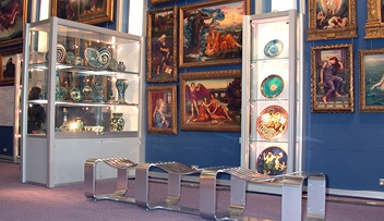 Large Museum Display Cases