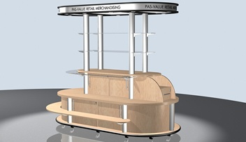 Retail Kiosks   Shop in Shop   RTD Systems - Octanorm UK