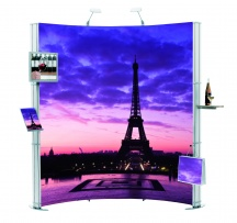 Vario d400 Curved – Pop up Display