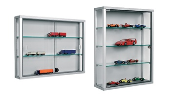 Wall Mounted Cabinets and Display Cases
