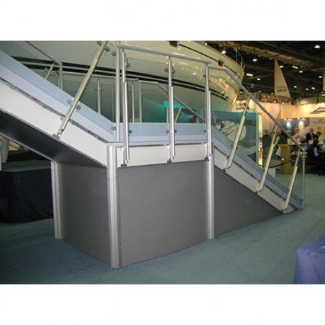 exhibition stand stairs