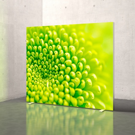 freestanding octanorm light box