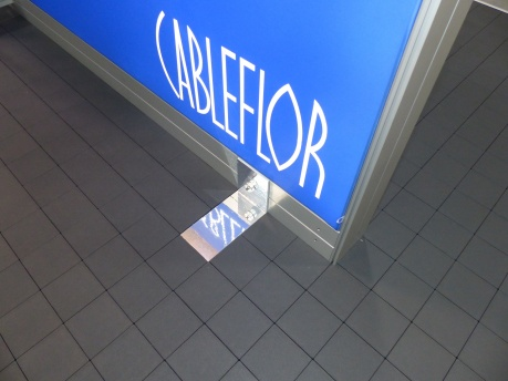 cableflor fixing plate
